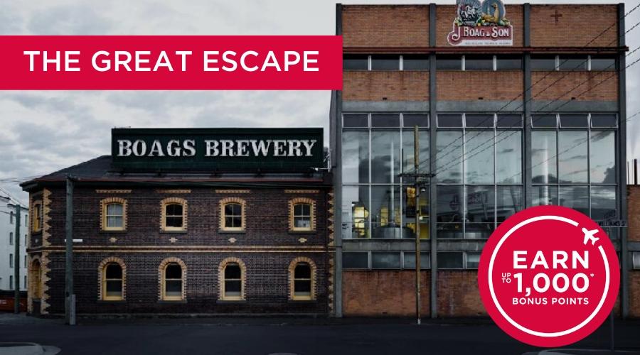 The Great Escape - Velocity Bonus Points