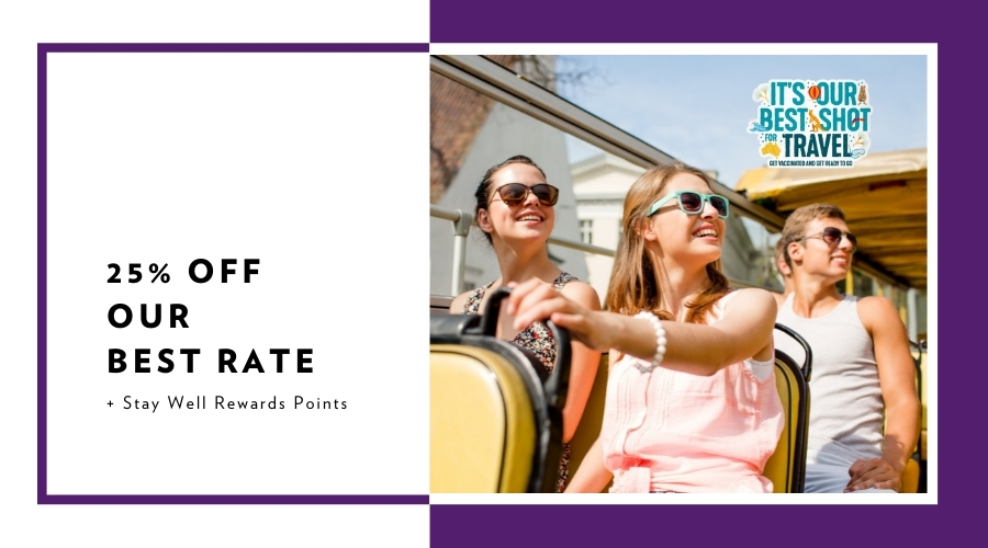 It's our Best Shot for Travel – Save up to 20%
